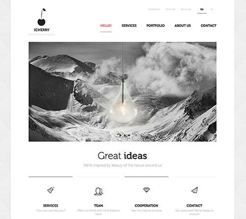 ICHERRY #CSS3 #网页设计