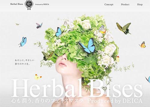 Herbal Bises #CSS3 #网页设计