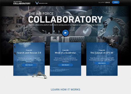 The Collaboratory #CSS3 #网页设计