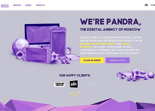 Pandra #CSS3 #网页设计