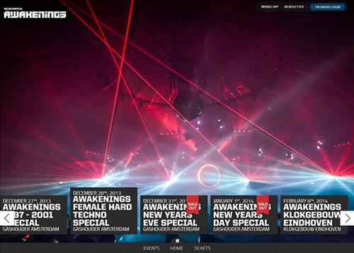 Awakenings #CSS3 #网页设计