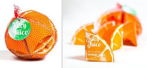 美味果汁包装设计