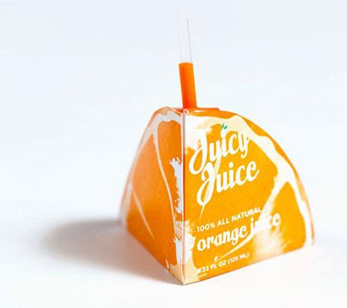 美味果汁包装设计2