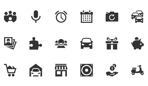350 Free Android Icons by Ivan 50套免费icon图标素材精选
