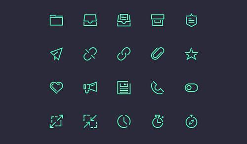 Stroke Gap Icons Vol 2 by Vlad Cristea 50套免费icon图标素材精选