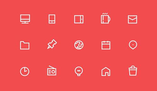 55 free icons by Jacek Janiczak 50套免费icon图标素材精选