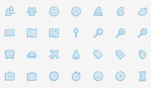 Juicicons by Jared Kennedy 50套免费icon图标素材精选