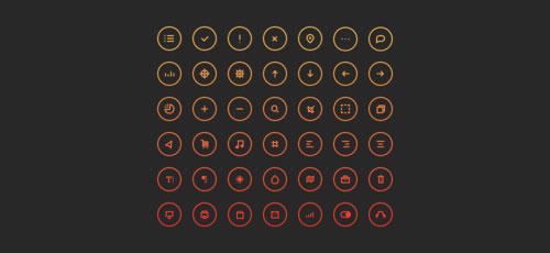 Cir Cu Lar Icons by John Cafazza 50套免费icon图标素材精选