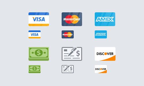Payment Icons by Vitaliy Petrushenko 50套免费icon图标素材精选