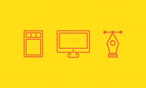 Free Designer Icons by Sofia Moya 50套免费icon图标素材精选