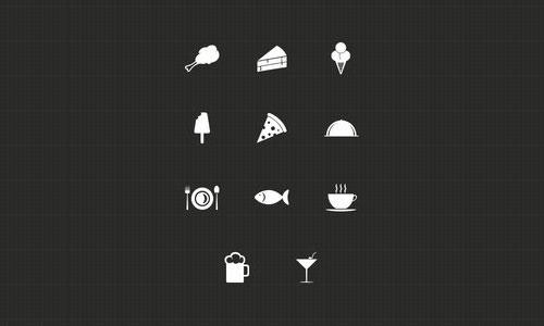 Food Icons by Harshil Acharya 50套免费icon图标素材精选