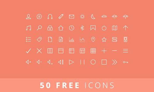 50 Ffree Icons by Balraj Chana 50套免费icon图标素材精选