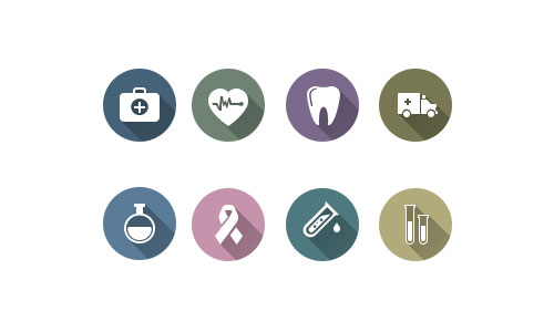 Medical Icon Pack by Iris 50套免费icon图标素材精选