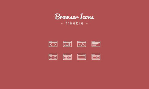 Browser Icons Freebie by Darius Dan 50套免费icon图标素材精选
