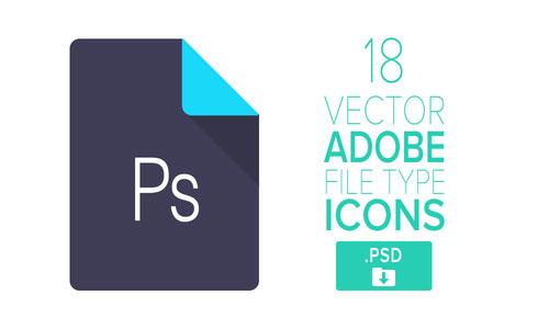 18 Free Adobe Icons by Stylistic 50套免费icon图标素材精选