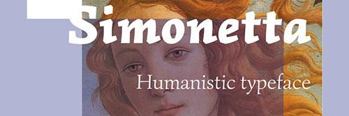Simonetta Free Font freebies designer