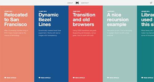 Minimal Monkey 极简主义 网页设计