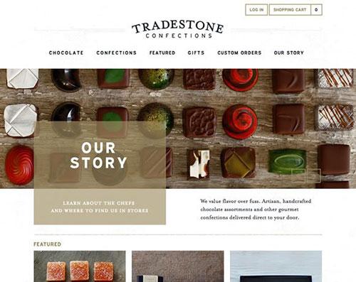 甜品店网站