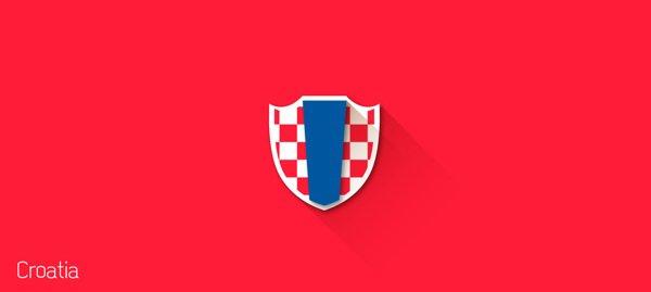 2014世界杯各国国旗标志设计