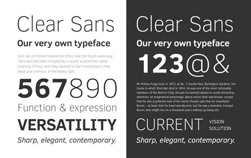 Clear-Sans