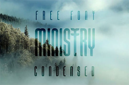 ministry-free-font