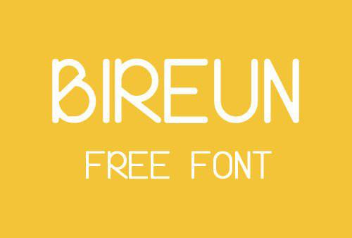 bireun_font