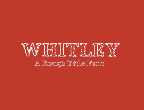 whitley_font