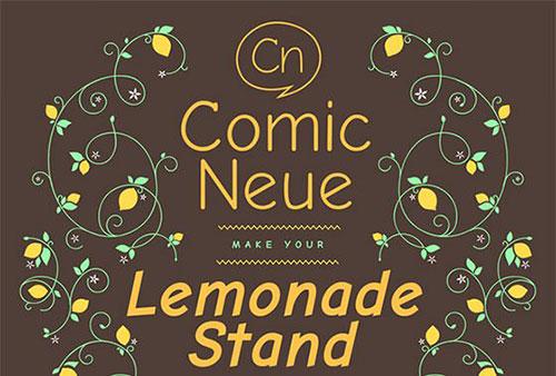conmic_neue_new_typeface