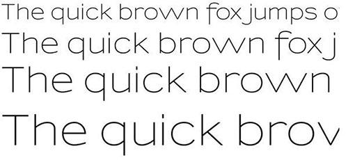 Sansumi thin font 细字体