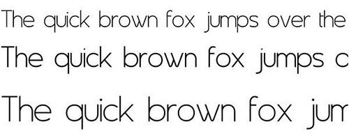 Asenine thin font 细字体
