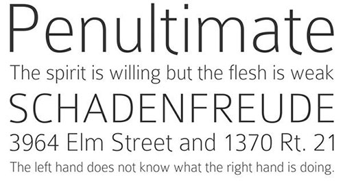 Colaborate thin font 细字体