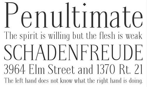 Spirequal Light thin font 细字体