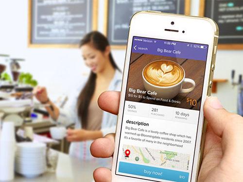 livingsocial screen dribbble design ui设计 界面设计