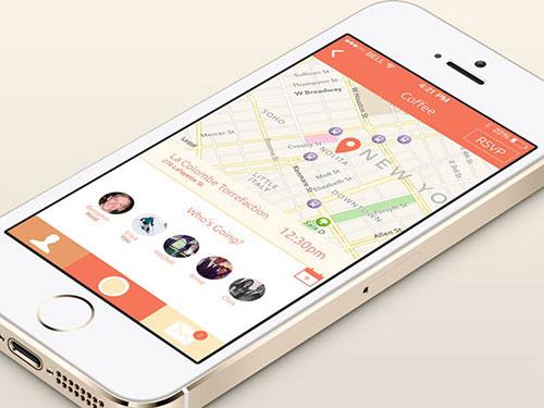 essen event view app ui design ui设计 界面设计