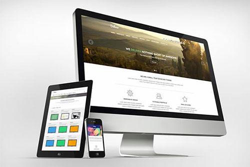 deliver-psd-theme(2) psd 网站模板