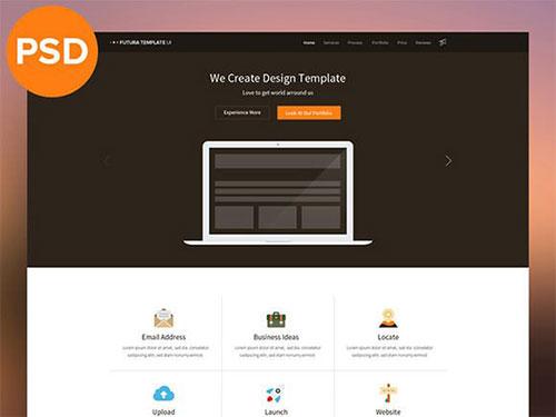 multipurpose-psd-theme psd 网站模板