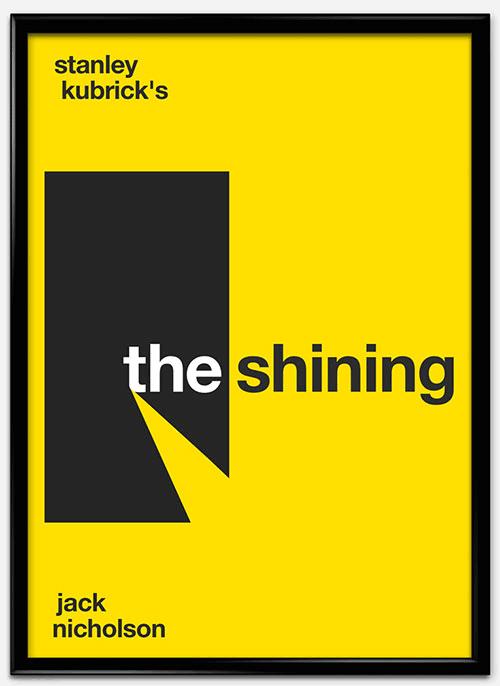 瑞士风格 海报 shining_mock