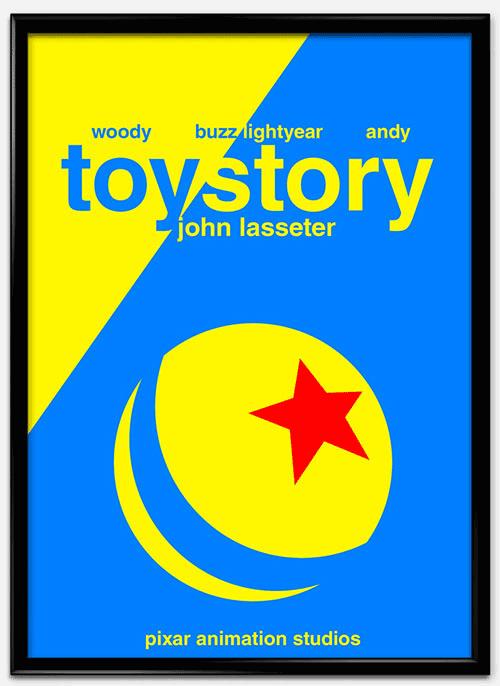 瑞士风格 海报 toystory_mock