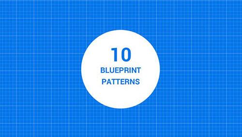 10-seamless-blueprint-patterns 纹理 纹理素材
