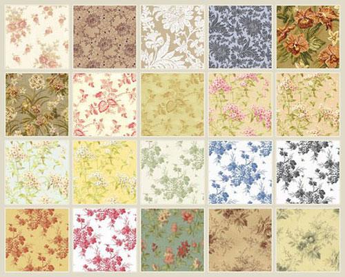 20vintagefloral_pattern 纹理 纹理素材