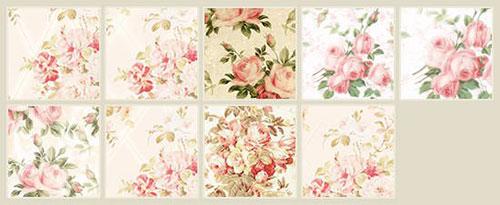 simply_rose_pattern 纹理 纹理素材