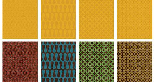 Mid_Century_Patterns_Preview 纹理 纹理素材