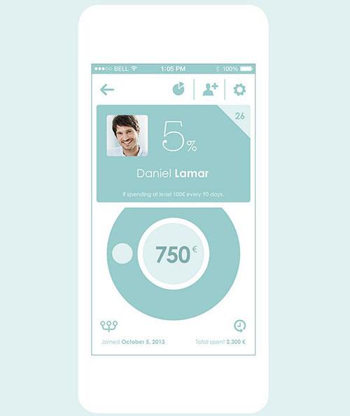Shario App by MING Labs&Pierrick Calvez 航行设计 UI设计