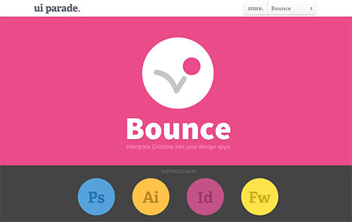 Bounce Photoshop插件
