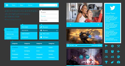 《2014人气网站界面设计免费psd素材》  《10套超漂亮的bootstrap