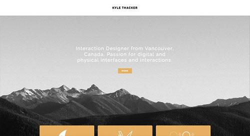Kyle Thacker 网页设计