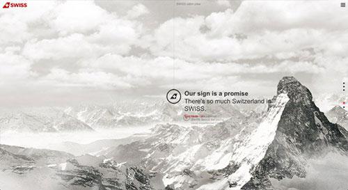 World of SWISS 网页设计欣赏