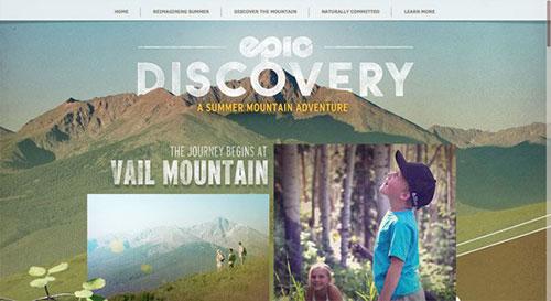 Vail Resorts Summer 2014 网页设计欣赏