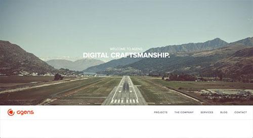 Agens 网页设计欣赏