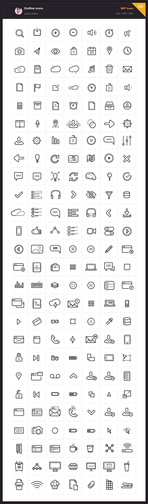 线性图标 图标 icon
